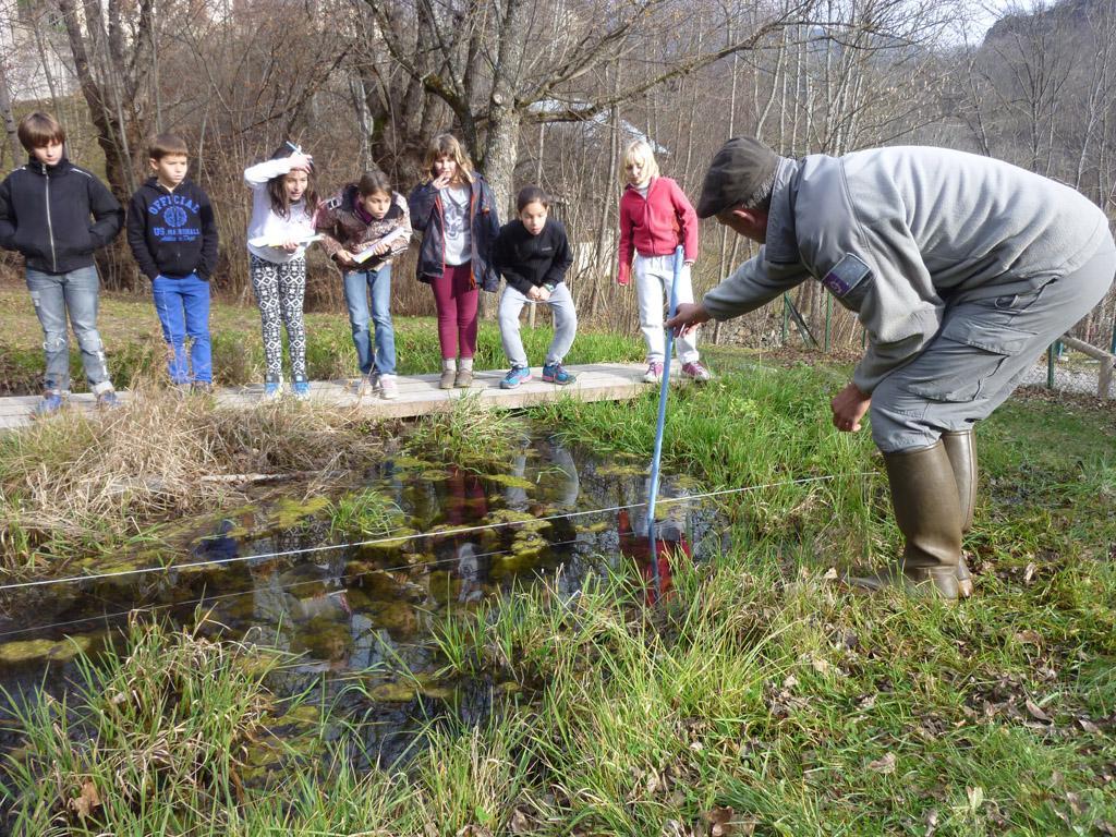 Ecole du Freney d'Oisans - 2014-2015 - projet pédagogique avec le Parc national des Ecrins