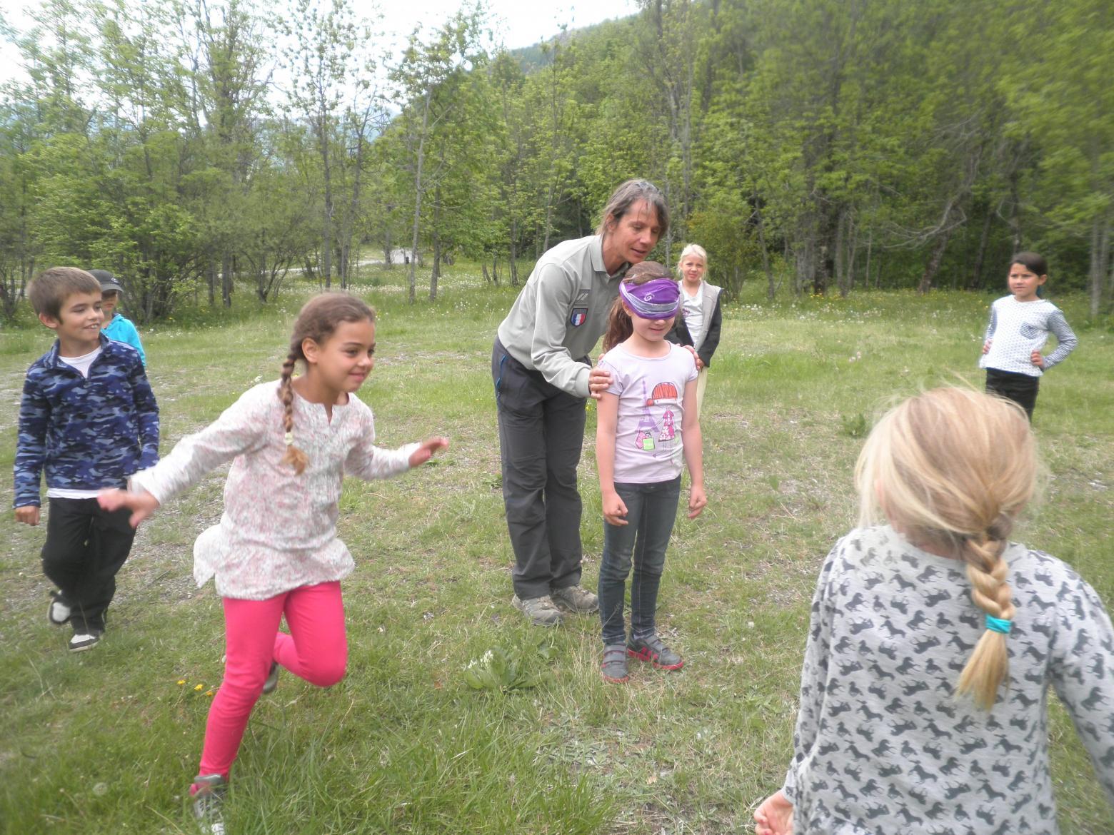 intervention pédagogique - école de Pelvoux -juin 2015- Parc national des Ecrins