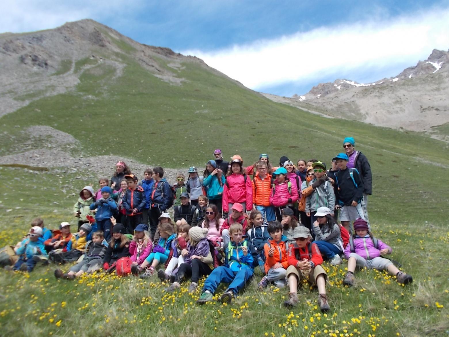 projet pédagogie- école de Pelvoux - Parc national des Ecrins - 2015-2016