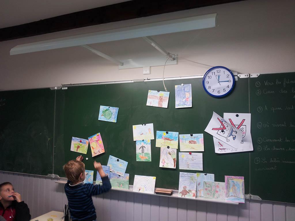 Ecole St Michel de Chaillol - 2016-2017- automne, avec le Parc national des Ecrins