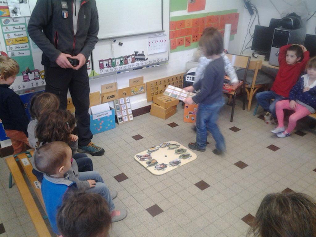 séance papillons - école Mizoen - parc national des Ecrins 2017