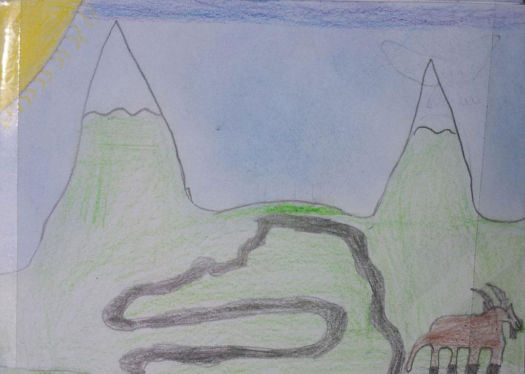 Bouquetin, projet pédagogique 2016-2017 - école Marronnier - Bourg d'OIsans