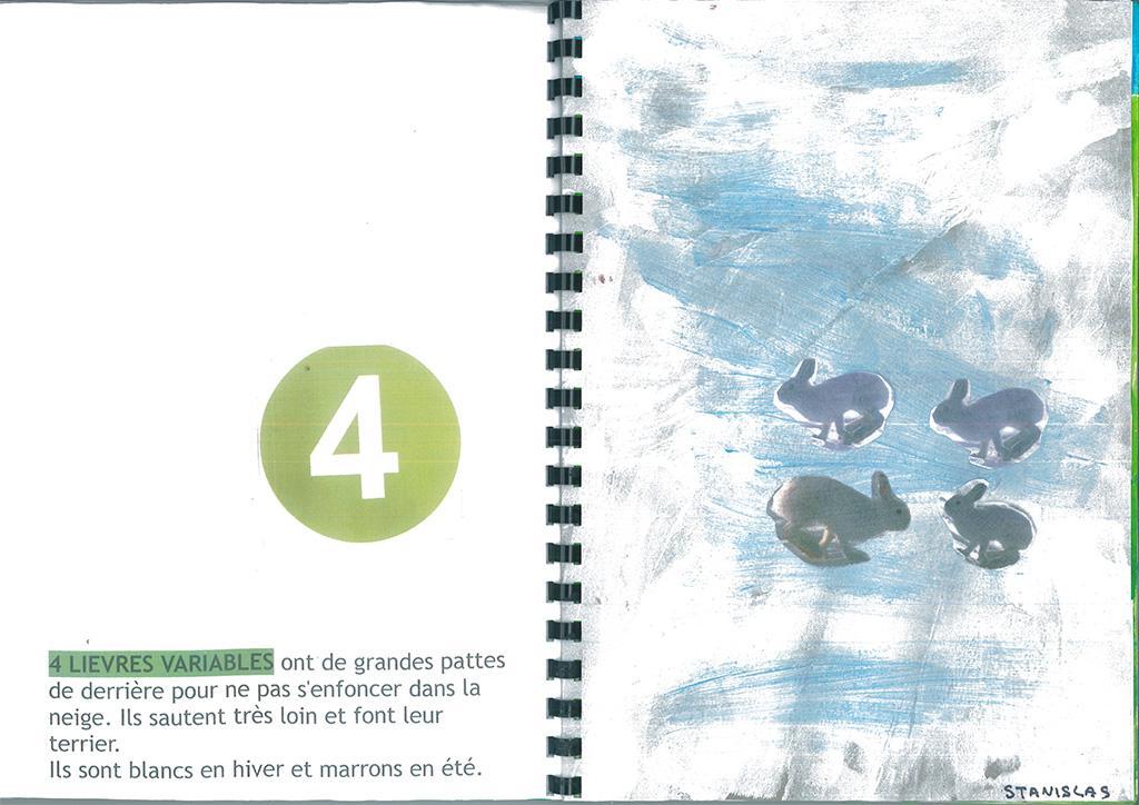 livret compter avec les animaux - maternelles 2 Alpes, avec le Parc national des Ecrins