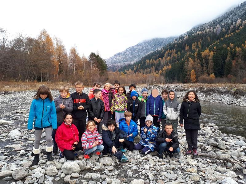 Sortie Drac - Ecole Saint jean Saint Nicolas - nov 2017 - Parc national des Écrins