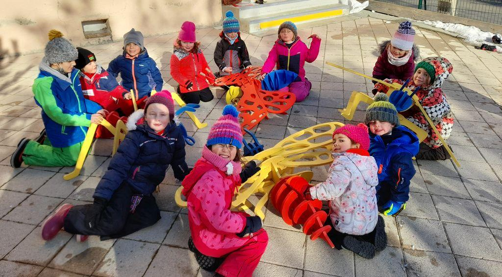 Animation parc et insectes pour les PS-CP de l'école de Puy-Saint-Eusèbe
