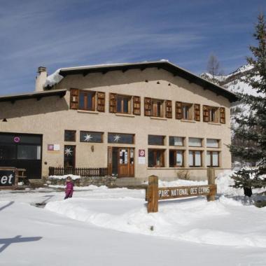 Le Centre du Casset, en hiver