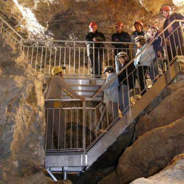 Visite des mines d'argent du Fournel