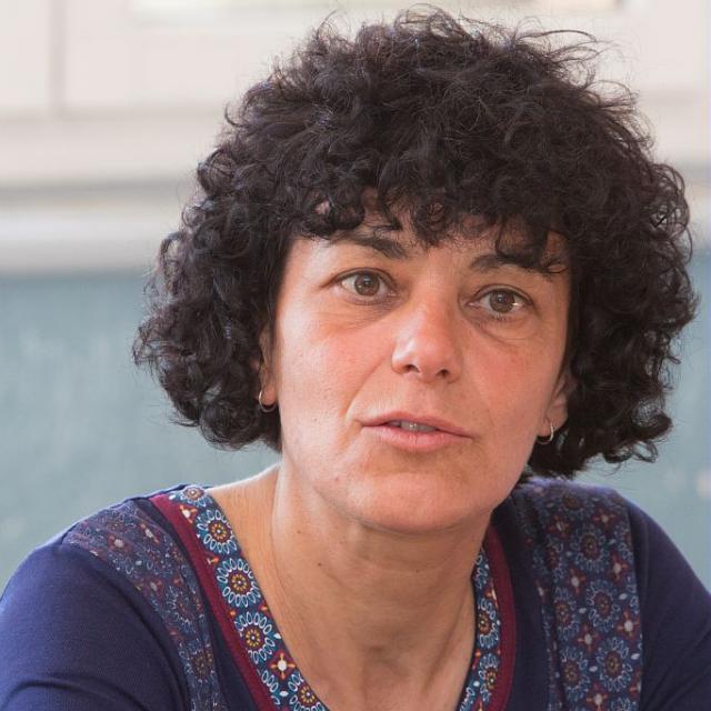 Florence Mocci, archéologue, membre du Conseil scientifique du Parc national des Ecrins © Pascal Saulay /PNE