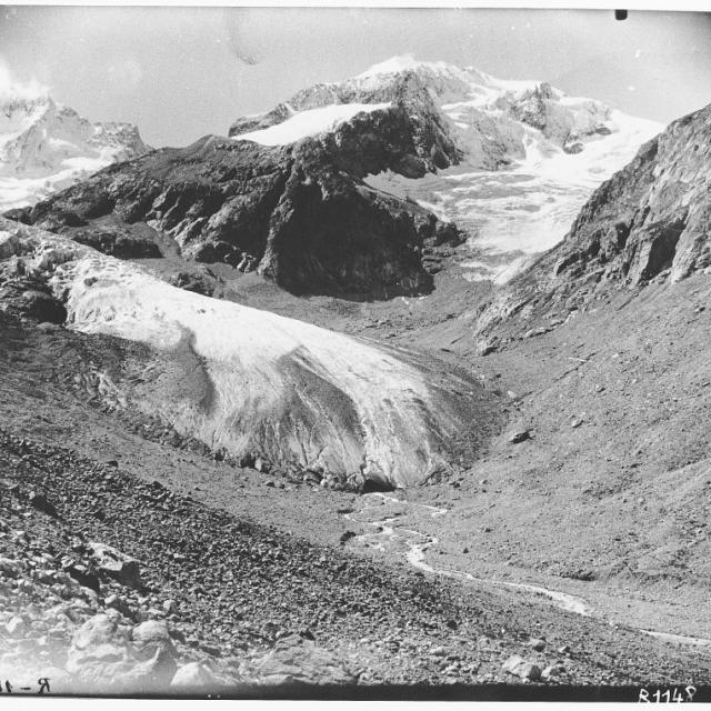 Glacier de la Pilatte - 1921 - archives départementales de l'isère