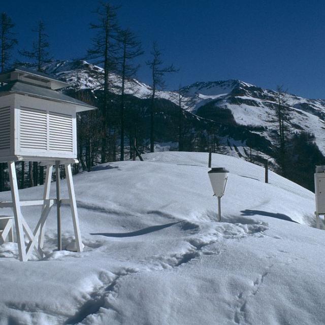 Station MERA - données météo et pollution de l'air - ©  Parc national des Ecrins