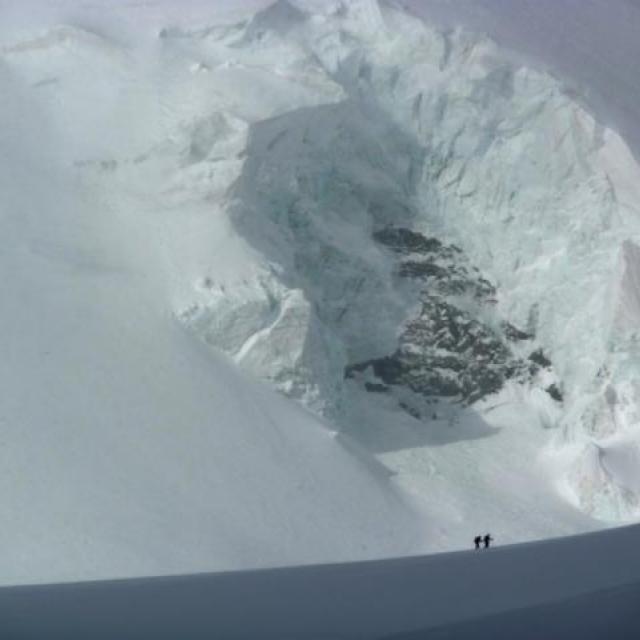 Alpinisme et changement climatique - document sonore - pierres qui roulent