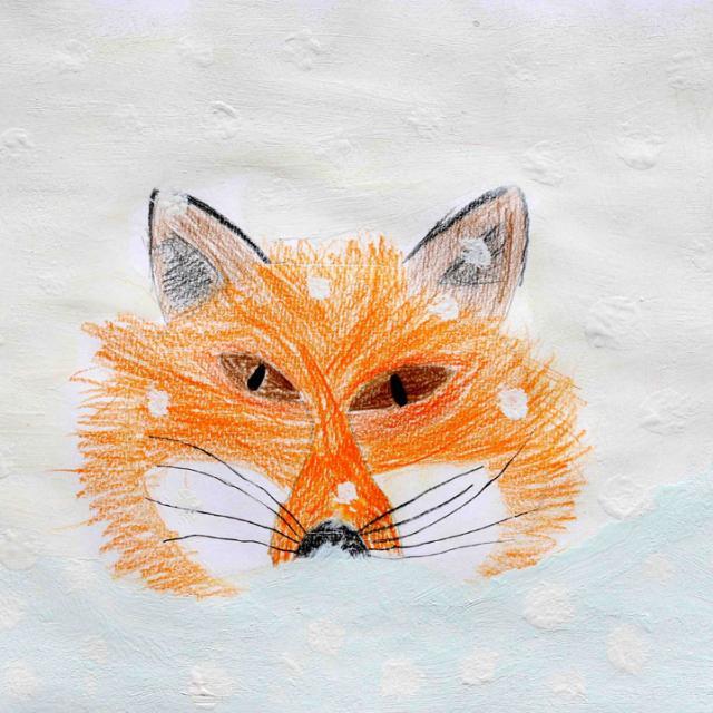 Lili-Jeanne Ferré - 2ème pirx 8/10 ans - concours dessin hiver 2015 - Parc national des Ecrins