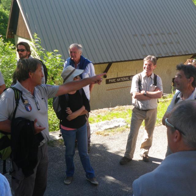 Conseil scientifique réuni dans l'Embrunais -juin 2015 - © R.Bonet - Parc national des Ecrins