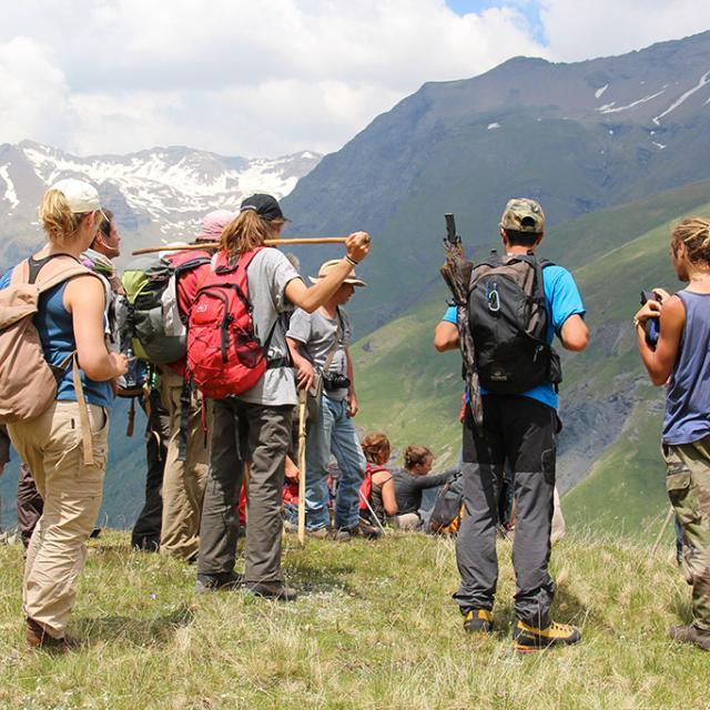 ormation élèves berger - juin 2015 - photo Agnès Thiard - Parc national des Ecrins