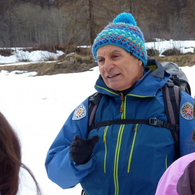 Christian Aubert - Bureau Visa trekking - accompagnateur Briançonnais © C-Coursier - Parc national des Ecrins