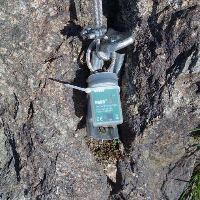Capteur de lumière installé @ Cédric Dentant - Parc national des Ecrins