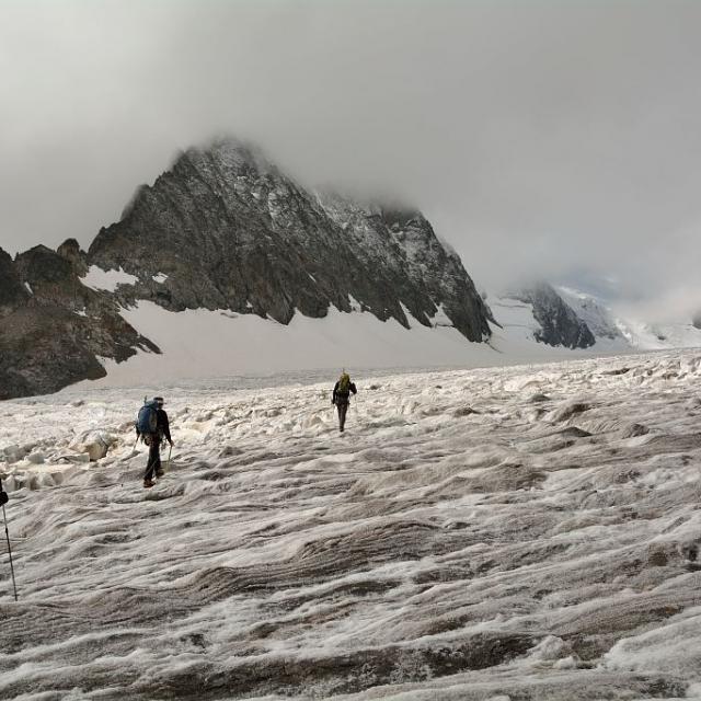 Glacier Blanc - sept 2014 - © M.Coulon - Parc national des Ecrins