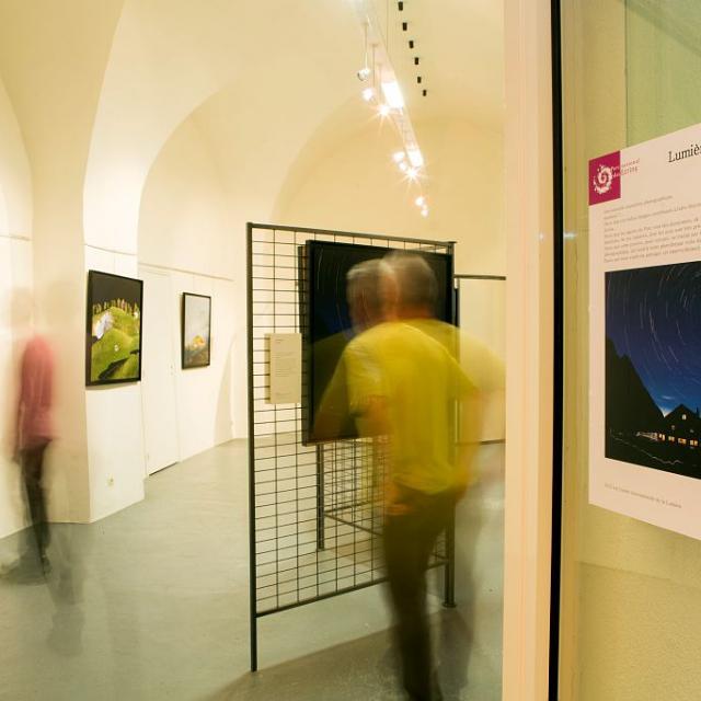 Exposition lumières des Ecrins - © P Saulay - Parc national des Ecrins