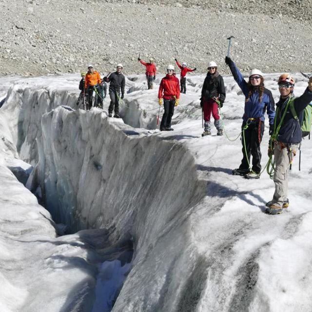 lycéens au glacier blanc - CIM 2015