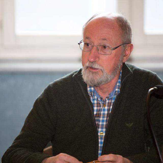 Patrick Holleville, maire de Saint-Christophe en Oisans  © P. Saulay - Parc national des Ecrins