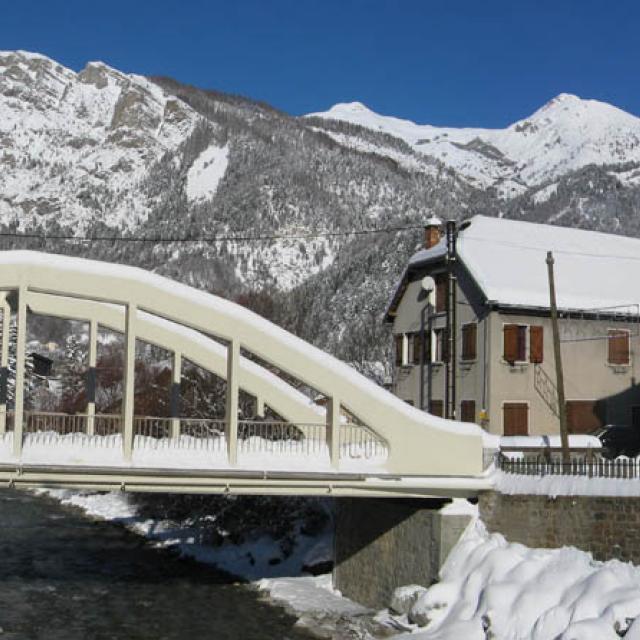 Village pont du Fossé en hiver - DR - Mairie-site internet - Saint jean - Saint Nicolas