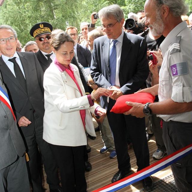 inauguration de la Maison du Parc de Vallouise © JP Telmon - Parc national des Écrins