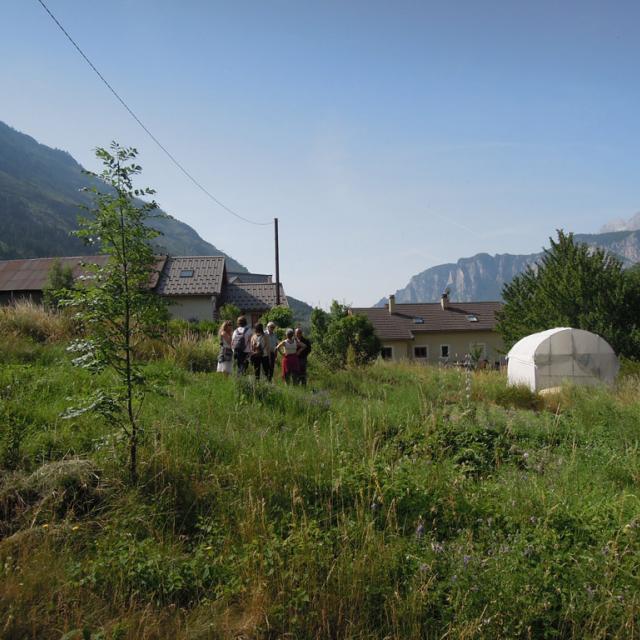 Atelier paysage à L'argentière-la-Bessée © F.Sabatier - Parc national des Ecrins