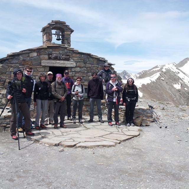 Au sommet du Mont Guillaume - photo M-Bouvier - Parc national des Ecrins