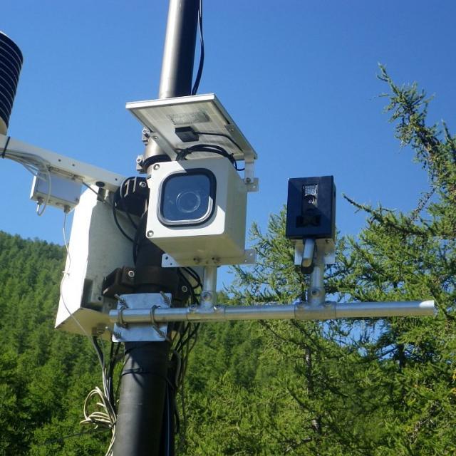 matériel station mesure © C-Sagot - Parc national des Écrins
