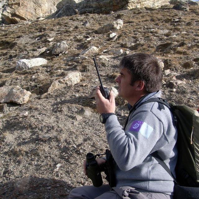 réseau radio - © P.saulay - Parc national des Ecrins
