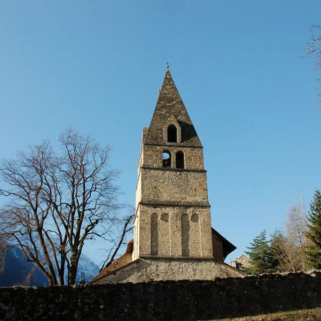 Eglise Saint Maurice  - © D.vincent - Parc national des Ecrins