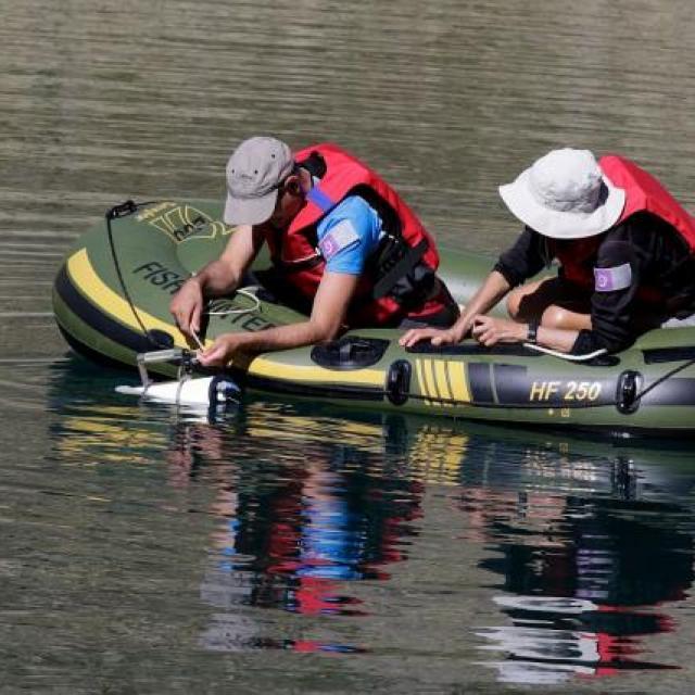 Mission lacs sentinelles © JP Telmon - Parc national des Écrins