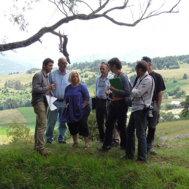 Ateliers paysage du Parc national des Ecrins