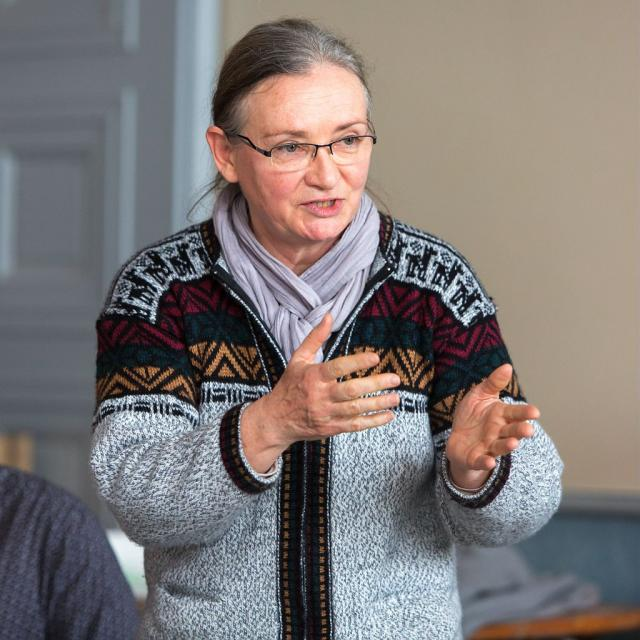 Marie-Hélène Cruveillé, président du Conseil scientifique du Parc national des Ecrins - © P-Saulay- Parc national des Ecrins