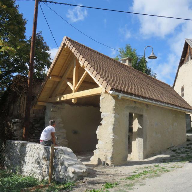 Four des Costes après restauration 2016 © M.Pottier - Parc national des Ecrins