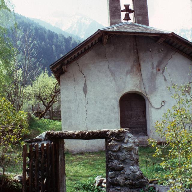 Chapelle Gragnolet - 1981 - © Parc national des Ecrins