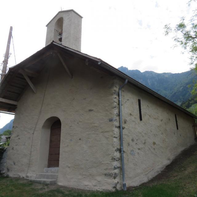 Chapelle Gragnolet après restauration - 2016- © Parc national des Ecrins