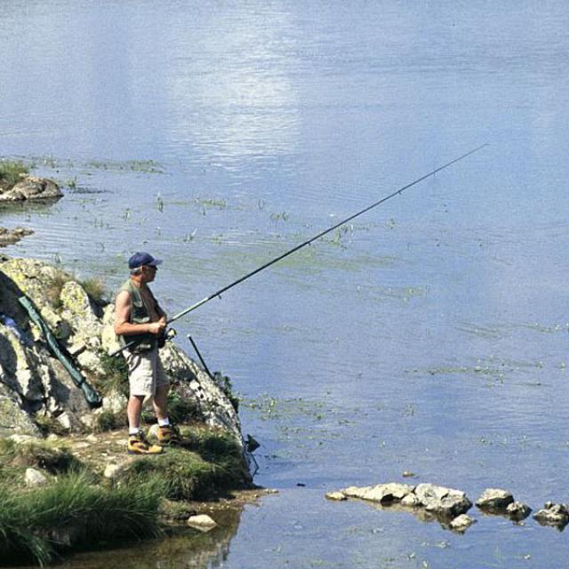 pêche lac besson - © C.Coursier - Parc national des Écrins