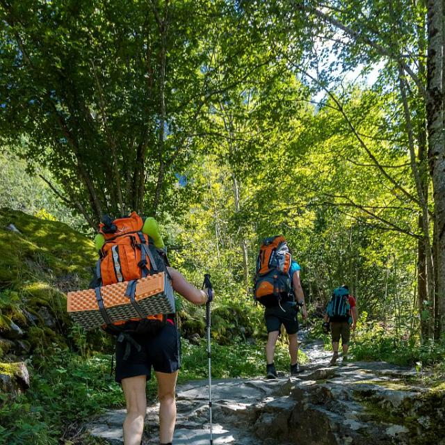 Grand tour des Ecrins - © Carlos Ayestas - Parc national des Ecrins