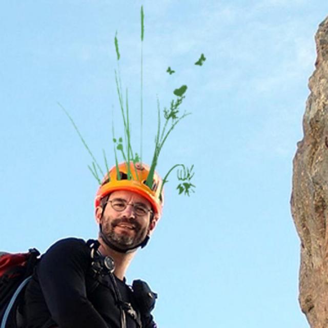 Cédric Dentant - botaniste - Parc national des Ecrins - programme écologie verticale