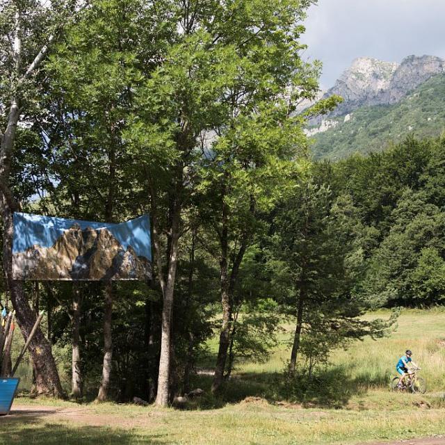 expo paysages des Ecrins - Grands formats à charance - ETE 2017 - Parc national des Ecrins