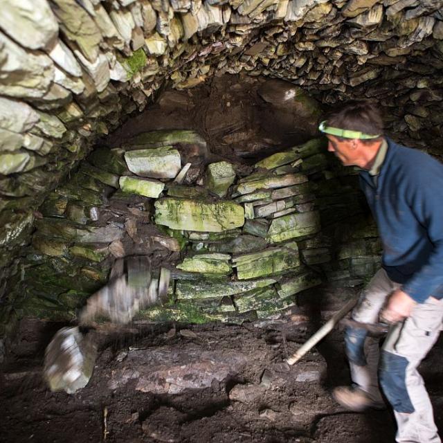 rénovation abri de l'hivernet - 2017 © @ Pascal Saulay - Parc national des Ecrins