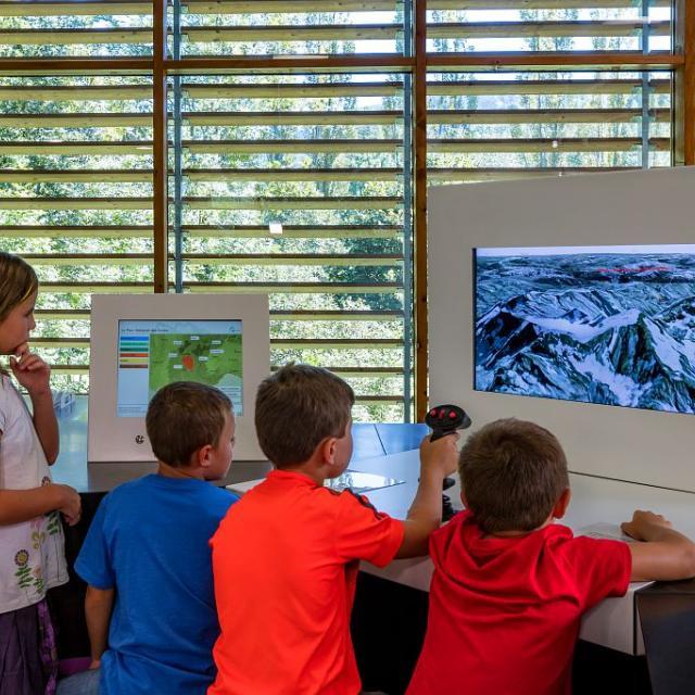 scénographie Maison du Parc de Vallouise ©  - Parc national des Écrins