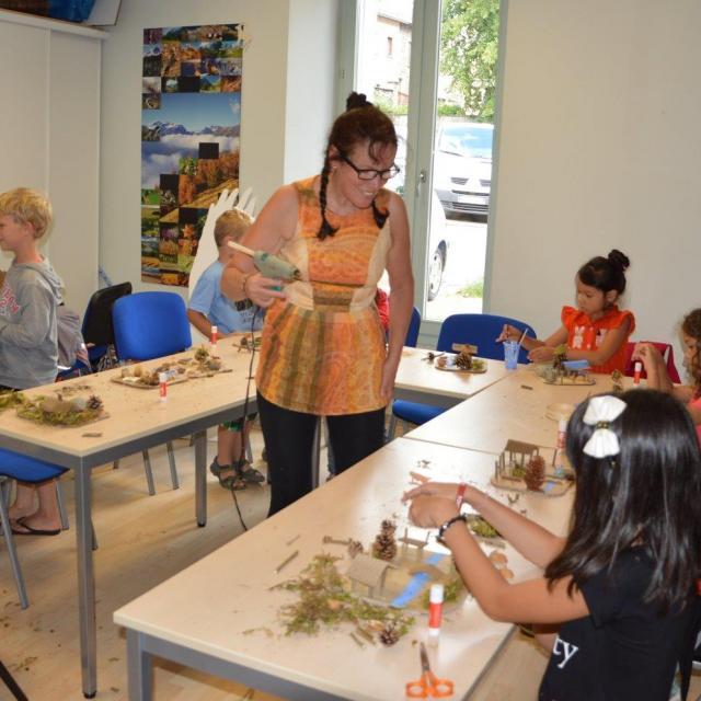 Atelier enfants -Valbonnais 2017 -Parc national des Écrins