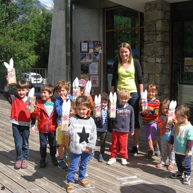 Atelier enfants -Vallouise 2017 - Parc national des Écrins