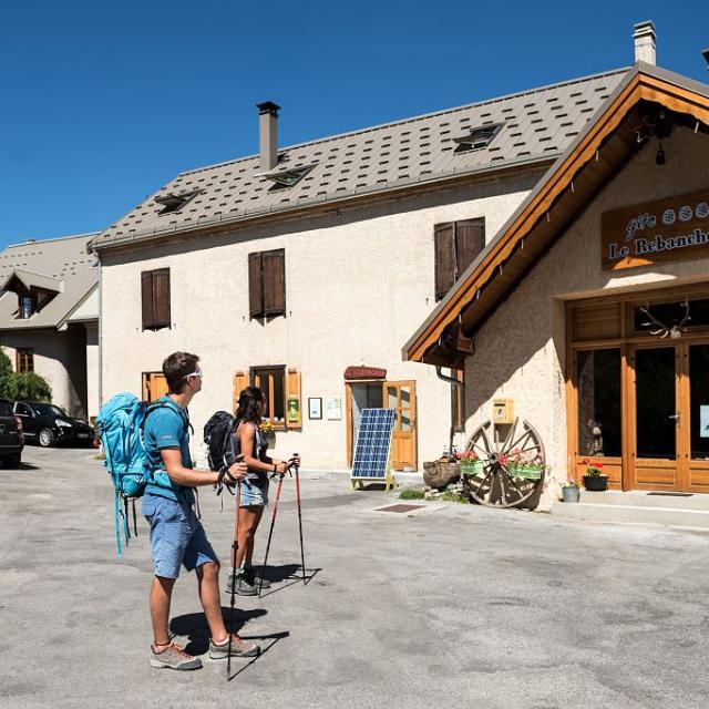 Rebanchon - Le Casset du Monêtier-les-Bains -  photo C Ayesta - parc national des Ecrins