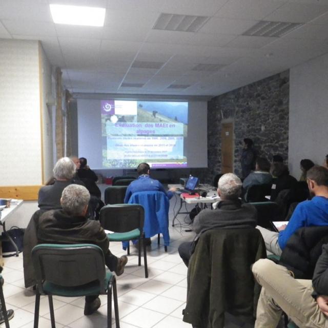 Rencontre alpages - pastoralp et MAE - 11 dec 2017 - Aspres-les-Corps