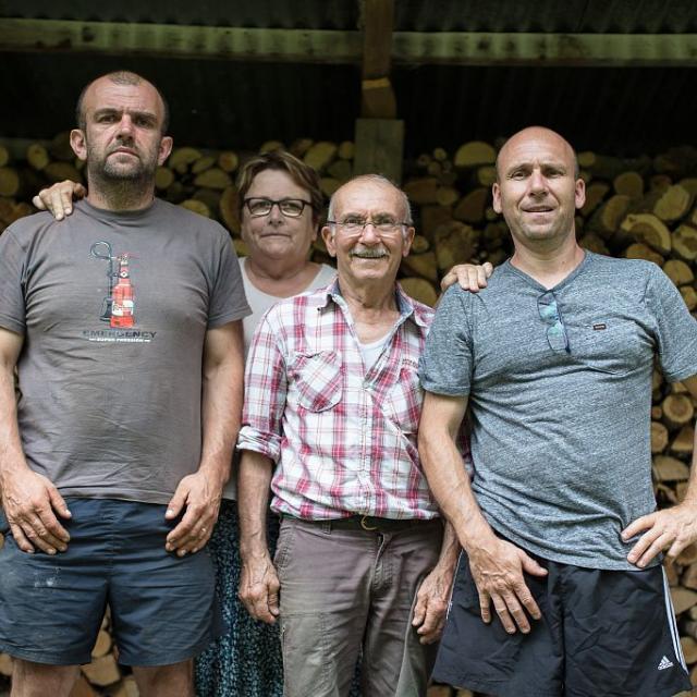 Ferme auberge Les Clarines - Valgaudemar - © photo F.Thibault - Parc national des Écrins