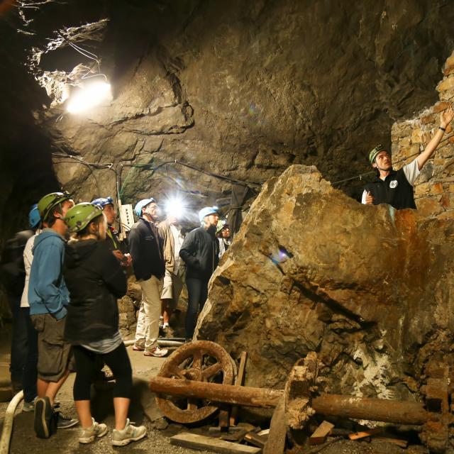 Visite souterraine de la mine d'argent © Jan Novak