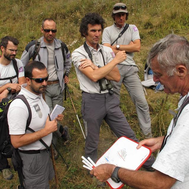 Arnaud Pêcher - formation géologie agent du Parc national des Écrins